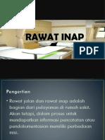 Ppt Rawat Inap