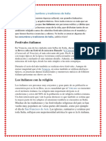 Costumbres y tradiciones de Italia tracy.docx