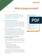 What is alopecia areata?