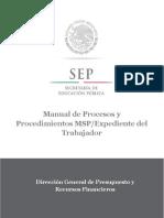 27. Manual de Procesos y Procedimientos MSP Expediente del Trabajador.docx