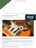 Guitar Setup_ How to Set Up Your Tremolo _ MusicRadar