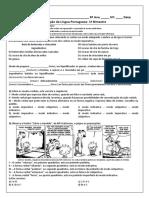 8 ANO AVALIAÇÃO LP.docx