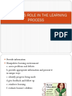 Assessment of the Learner