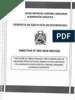 DIRECTIVA 02-2018-MDCGAL - EJECUCION DE OBRAS POR CONTRATA.pdf