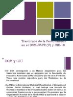 Trastornos de La Personalidad en DSM-IV-TR y CIE