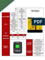 Ficha Tecnica Ydy25s3 (1)