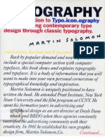 The Art of Typography - Martin Solomon
