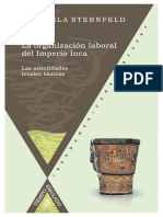 Sternfeld, Gabriela - La organización laboral del Imperio Inca _ las autoridades locales básicas (2007).pdf