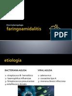 3.- Faringoamigdalitis