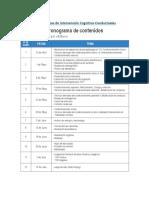 Canales, Víctor - Reporte Semana 1 - TCC Niños y Adolescentes