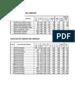 Parametros calculados