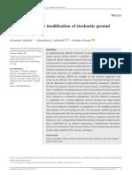 Hazard-compatible Modification of Stochastic Groun