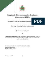 Draft Tender Document of TMS