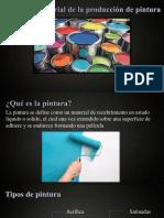 Proceso Industrial de La Producion de Pintura
