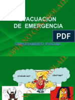 Capacitación Evacuación 2016