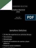 Semaforo Nacional 2018 Final