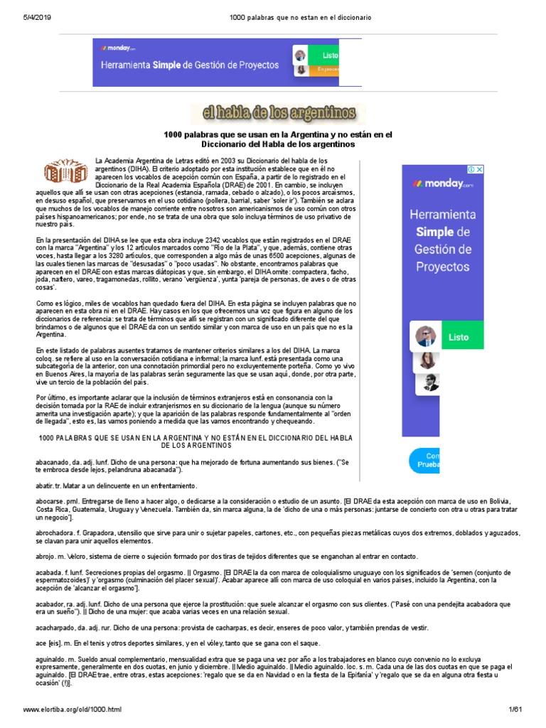 66295097 1000 Palabras Que No Estan en El Diccionario