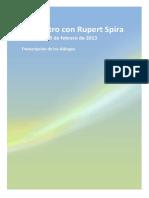 Conversaciones de Rupert Spira