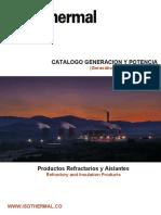 1. Catalogo Generacion y Potencia (Correo)