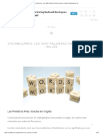 Vocabulario_ Las 1000 Palabras Más Usadas en Inglés _ Englishpost.org