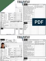 Final Fantasy RPG NPCs