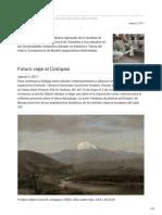 (2017.08.03_CPPC)_Alberto Baraya_Futuro Viaje Al Cotopaxi