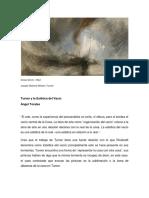 La Estética de Vacío y Lucio Fontana
