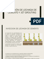 Inyección de Lechada de Cemento y Jet Grouting