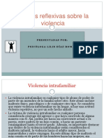 Charlas Reflexivas Sobre La Violencia