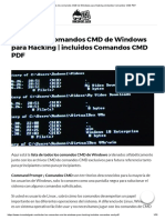 ▷ ▷ Todos los comandos CMD de Windows para Hacking _ incluidos Comandos CMD PDF