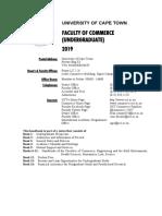 2019 COM UG Handbook