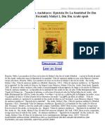 Vida de Santones Andaluces Epistola de La Santidad de Ibn Arabi de Murcia (Ed Facsimil)