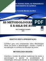 As Metodologias Ativas e a sala de aula
