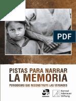 Pistas para narrar la memoria.pdf