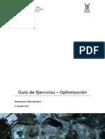 Guía de Ejercicios - Optimización.pdf
