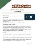 DÍA 002 - 365 Días Para Leer La Sagrada Escritura