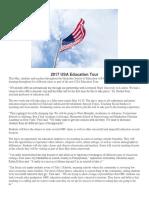 2017 USA Education Tour