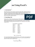 Regression Using Excel.doc