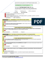 bip behavior intervention plan template  1 -3