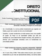 Poder Constituinte Originario.derivado.decorrente - Reforma Slides