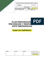 PLA-SST-001 Plan de Preparación, Prevención y Respuesta Ante Emergencias