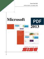 Manual de Power Point 2013 v.06.13