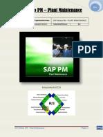 SAP Módulo PM - Plant Maintenance