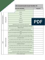 caracterización de familias ICBF Colombia