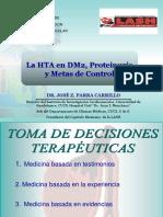 HTA en DMT2 Proteinuria y Metas 2012