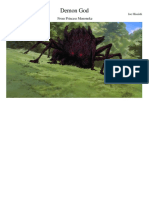 Princess Mononoke Demon God WIP