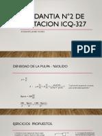 Ayudantia N°2 de Flotacion ICQ-327