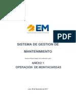 Sistema de gestión de mantenimiento