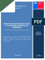 Documento Tecnico 67 Muestreo de La Unidad Monetaria Mum