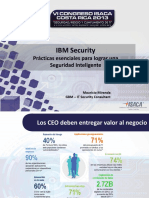 PPT IBM Security Essentials Formato ISACA